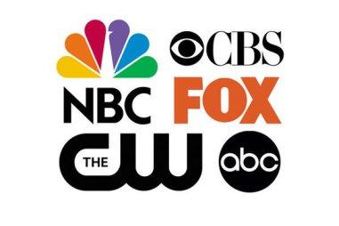 0256018F00765286-c2-photo-les-logos-des-cinq-grandes-chaines-americaines-nbc-cbs-fox-cw-et-abc