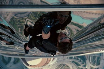 Mission Impossible Ghost Protocol Tom Cruise Brad Bird Burj Khalifa Dubai