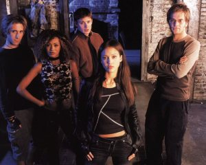 The 'core' cast of Dark Angel.