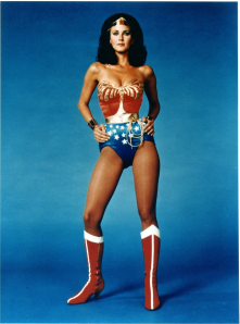 Gadot becomes the first Wonder Woman since Lynda Carter to appear on screen.
