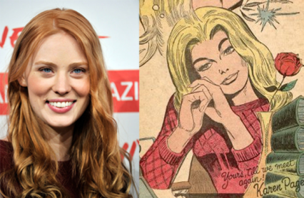 """True Blood"" actress Deborah Ann Woll has been cast in Netflix's ""Daredevil"" series."