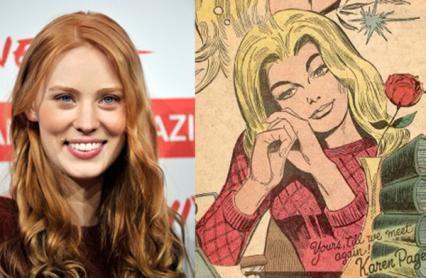 """True Blood"" actress Deborah Ann Woll has been cast in Netflix's ""Daredevil"" series."