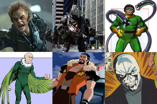 """Sinister Six"", ""Amazing Spider-Man 3"" get release dates"
