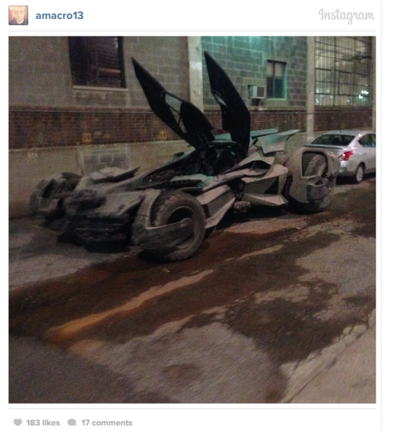 Batman v Superman Batmobile 01
