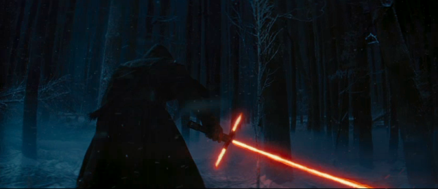 Star Wars Force Awakens 3 bladed lightsaber