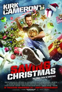 Kirk Cameron's Saving Christmas won 4 Golden Raspberries, including Worst Picture of 2014.
