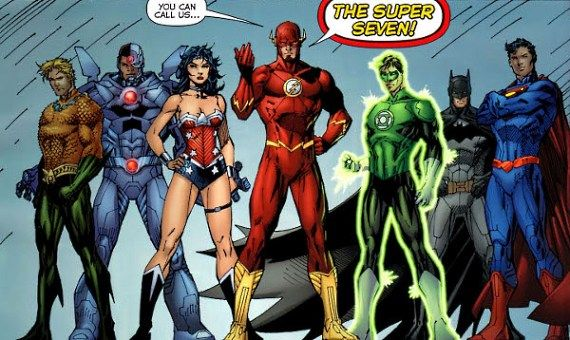 The Super Seven Justice League