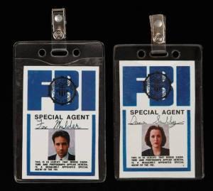 x-files badge