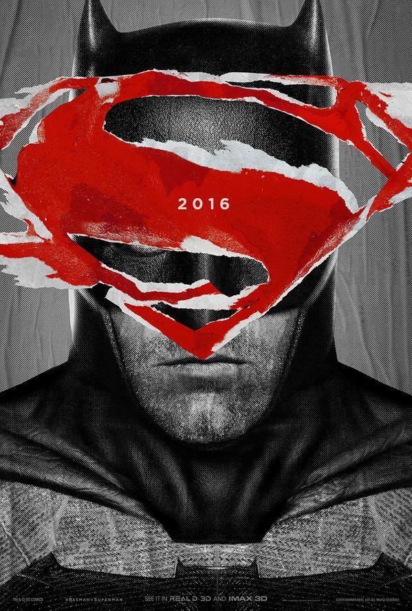 Superman v Batman poster