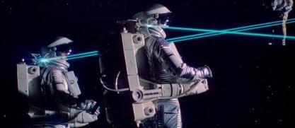 Moonraker astronauts