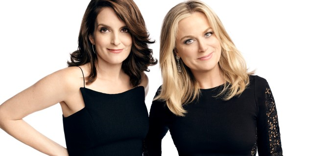 GOLDEN GLOBES -- 72nd Annual Golden Globe Awards -- Pictured: (l-r) Tina Fey, Amy Poehler -- (Photo by: Art Streiber/NBC/NBCU Photo Bank via Getty Images)