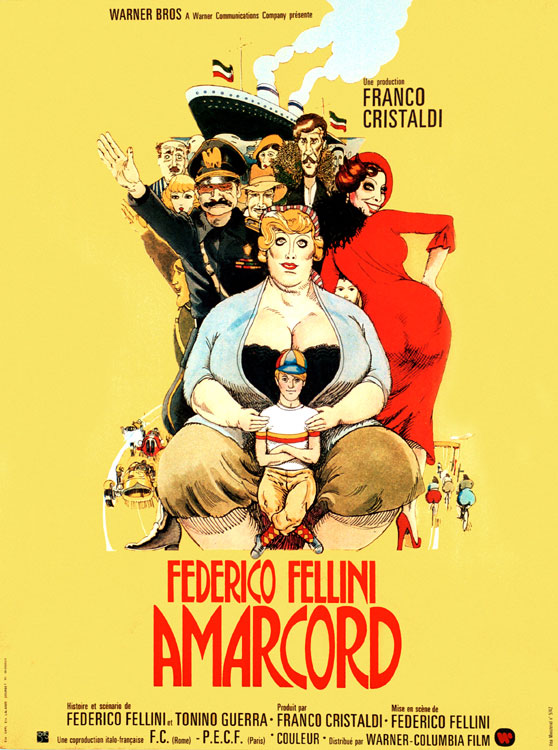 Image result for amarcord fellini